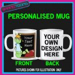 TEACHERS SCHOOL PUPIL PERSONALISED COFFEE MUG GIFT 001